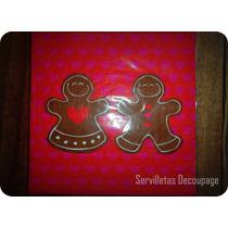 Servilletas Importadas Decoupage Navidad