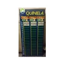 3 Quinielas - Carteles Para Agencias (azul ,blanco,o Celest)