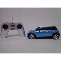 Carro Controle Remoto Mini Cooper S Azul 1/24 Cks Rastar