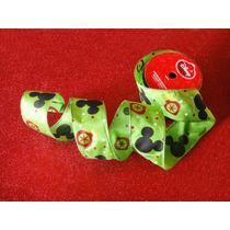 Mickey Mouse Decoración Navideña Coronas Moño Pino Navidad