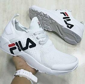 Tenis Zapatillas Fila Mind Zero- Blanca Hombre 2018 -   149.900 en Mercado  Libre 70dfe1a46bd