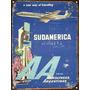 Chapa Vintage Publicidad Antigua Aerolineas Argentinas L656