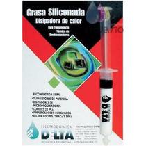 Grasa Siliconada Disipadora Calor Delta Cpu Cooler Micro Amp