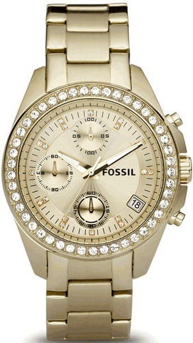 db7361a67f96 Reloj Mujer Fossil Es2683 Cronografo Calendario Wr 100 Mts -   10.080