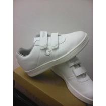 Hermosos Zapatos Gigetos Blancos Cocidos Nro35
