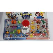 Pokemon Go !!! 18 Muñecos Y 1 Pokebola !!!