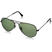 Gafas Ray-ban Aviator Gafas De Sol Grandes De Metal Rb / 3f