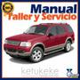 Manual De Taller Y Reparacion Ford Explorer 1995-2002