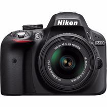 Nikon D3300 Kit 18-55mm 24mp Dx-format Cmos Full Hd Video
