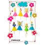 Princesas Planas Pack X10u Souvenir!