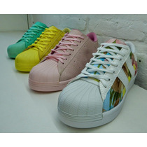Zapatillas Sneakers De Colores Sandalias Amme Shoes