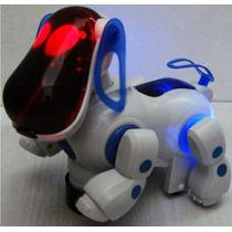 Cão Robô Movimenta-se, Late, Acende Luzes C/ Música