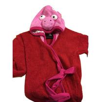 Bata Toalla Pepa Pig