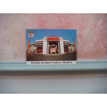 Cartão Postal Estadio Da Luz Lisboa Portugal Antigo 34
