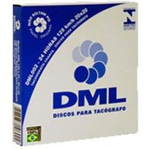 Disco De Tacógrafo Diário 125x24 (caixa Com 100 Unidades)