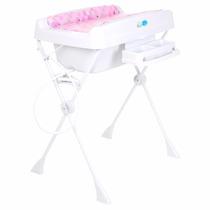 Banheira Millenia Cubes Rosa - Burigotto - Bebê Store