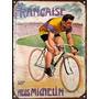 Chapa Publicidad Antigua Bicicleta Bici Michelin X226