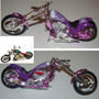 Iron Choppers Moto Kit Para Armar 1:18 Metal Motormax Nuevo