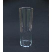 Tubo De Vidro - Vaso Cilindrico - Copo Vela (06 Unidades)
