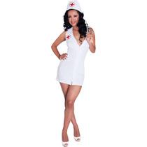 Disfraz Sexy Para Dama Doctora Enfermera Vestido Sensual