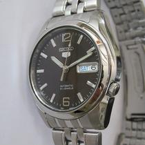 Relógio De Pulso Seiko Automático Masculino De Aço Snk391k1