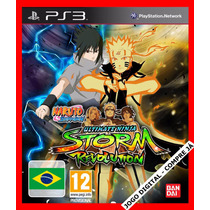 Naruto Shippuden:ultimate Ninja Storm Revolution Ps3 Cód Psn