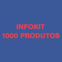 Kit Com 1000 Info Produtos - Direito A Revenda