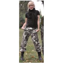 Pantalon Mil Tec Militar De Mujer En Rip Stop Us Bdu Hose Wo