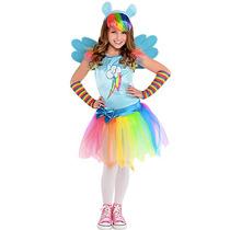 Disfraz Rainbow Dash My Little Pony Tutu Vestido