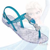 Sandália Infantil Menina Disney Frozen Heart Grendene 21485