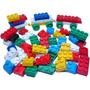 Blocos Montar Bricks Carrinho 100 Peças Ótimo Presente