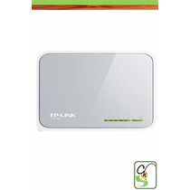 Switch Tp-link Tl-sf1005d De 5 Puertos 10/100 Redes Charome