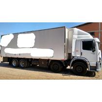 Vw 24250 8x2 4º Eixo Bitruck Baú Frigorifico Refrigerado
