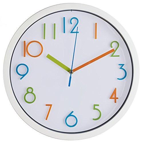 Productos De Bernhard - Reloj De Pared De Colores Para Niño ...
