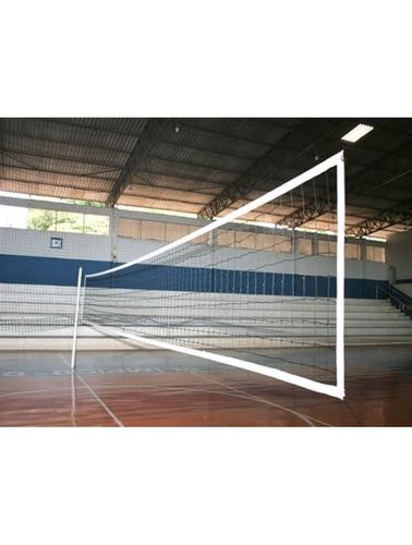 Rede De Voleibol Nylon Oficial 4 Faixas Algodão - R  133 66a4aa1615a98