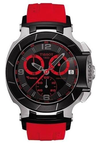 a527f3cb832 Relogio Tissot T Race Moto Gp T048.417.27.057. Vermelho - R  1.679 ...