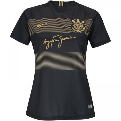 847b9f27f0 Camisa Corinthians Oficial Senna Feminina 18 9 Frete Grátis! - R  145