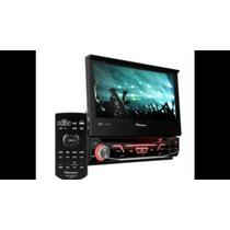 Dvd Pioneer Avh-3880 7 Pulg Retractil Touch 92w Rms