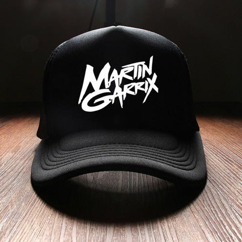 Bone Snapback Dj Martin Garrix - Preto Produto Em Estoque - R  89 61dd753a31ae