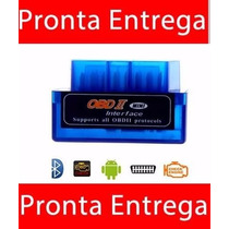 Obd2 Bluethooth Scaner Carro Diagnóstico Computador De Bordo