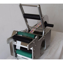 Máquina Eléctrica Etiquetadora Semiautomática Para Botellas