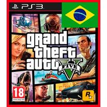 Gta 5 Ps3 - Grand Theft Auto V Codigo Psn Português Br