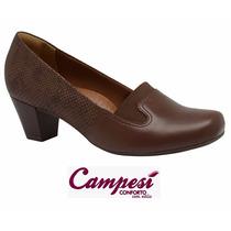 Sapato Campesí Dakota Conforto L5372 - Marrom