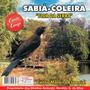 Cd Canto De Pássaros Sabiá Coleira- Canto Mateiro Especial