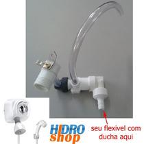 Desviador Cardal P/ Ducha Florenza Branco Hidroshop