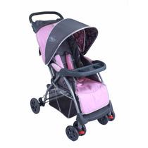 Carrinho De Bebê Smart Rosa