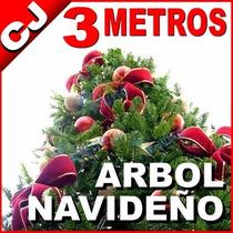 Arbol Navidad 300 Cm Envio Gratis Pino Canadiense Artificial