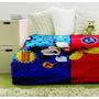 Frazada Infantil Piñata Disney Flannel 1,5x2,2m