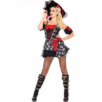 Disfraz Pirata Sexy Fiesta Halloween Anime Cosplay Table Pol