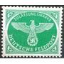 C@- Tercer Reich - Aguila - Feldpost - Mi # 4 -